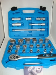 Socket set 27 pieces